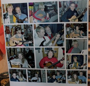 Students at Murphys Music Company